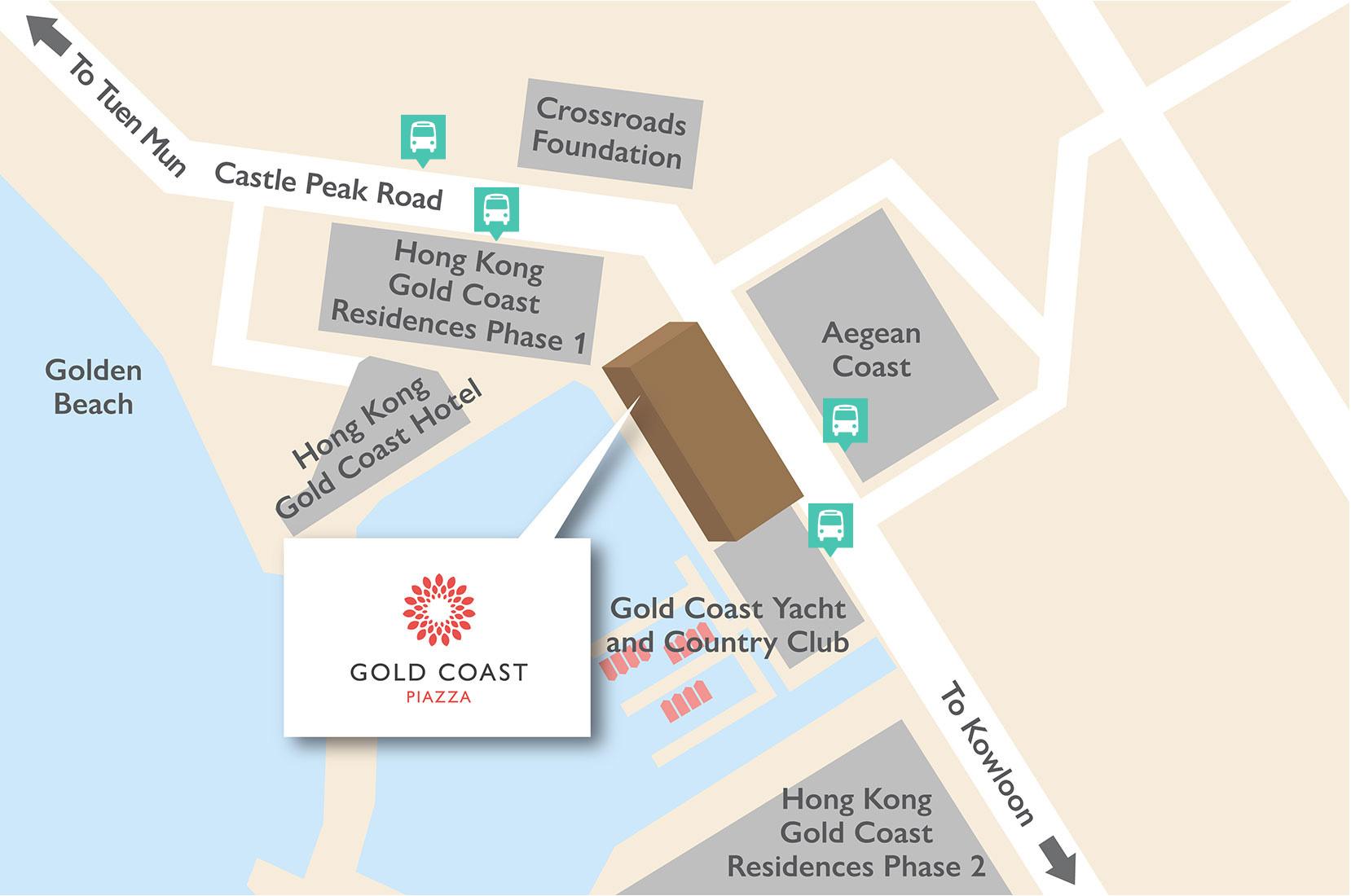 minibus location map